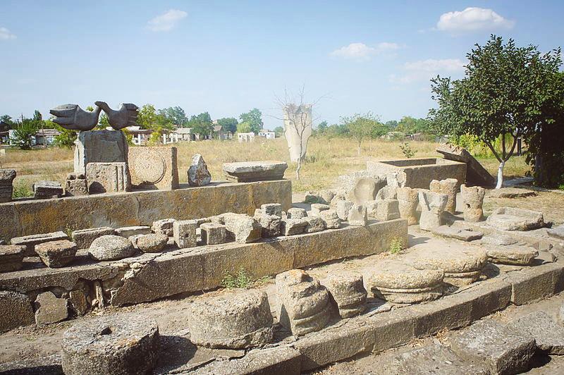 Находки на территории археологического заповедника Ольвия