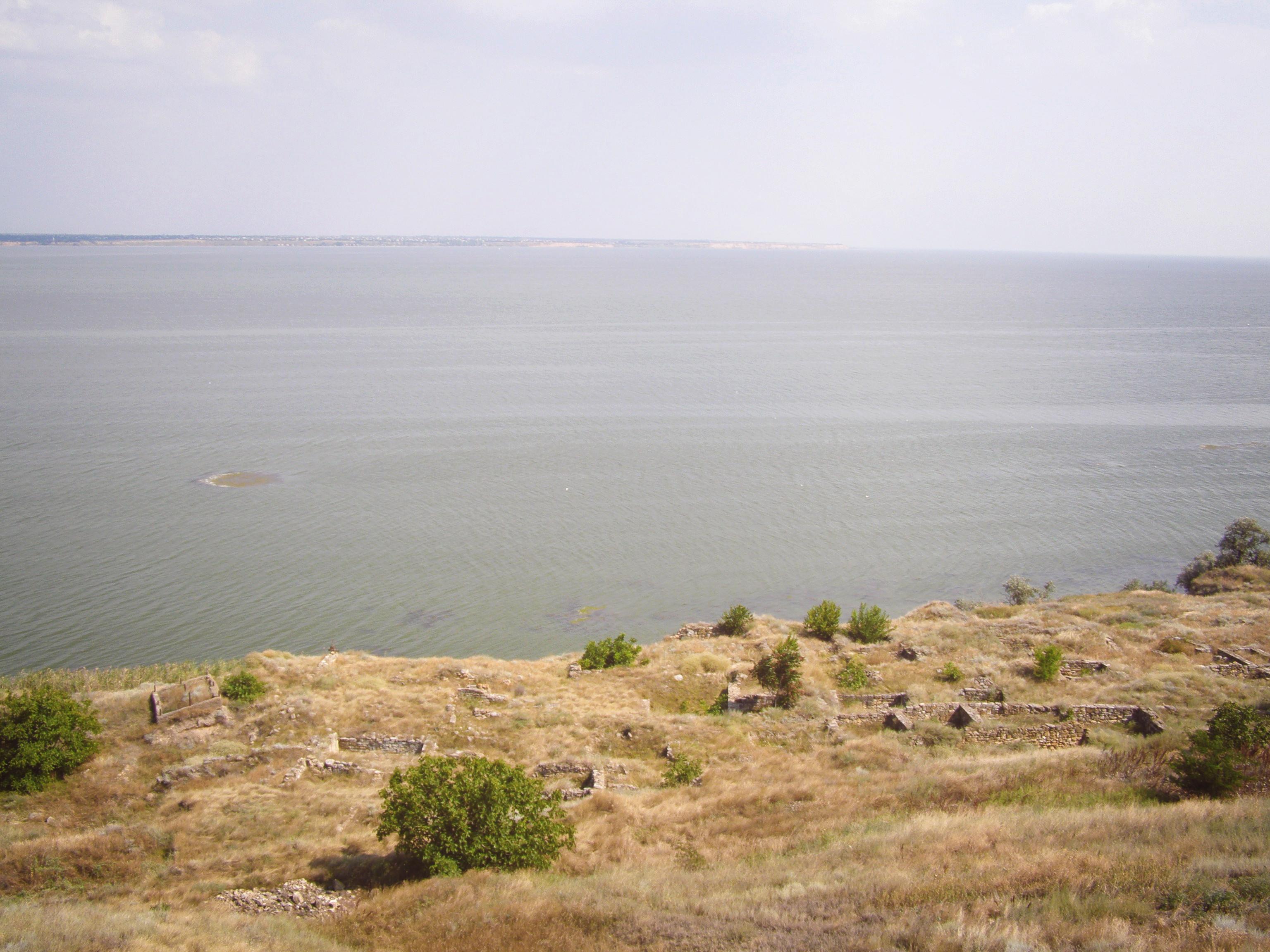 Вид на затонувший город, Ольвия