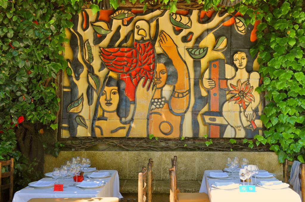 Отель-ресторан «Золотая голубка», Сен-Поль-де-Ванс, Франция