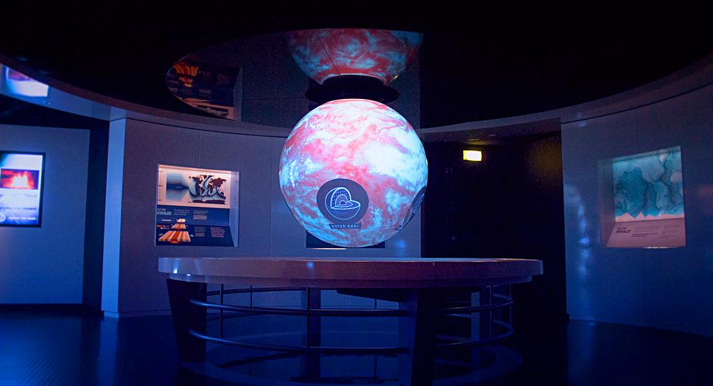 Научный центр Our Dynamic Earth в Эдинбурге