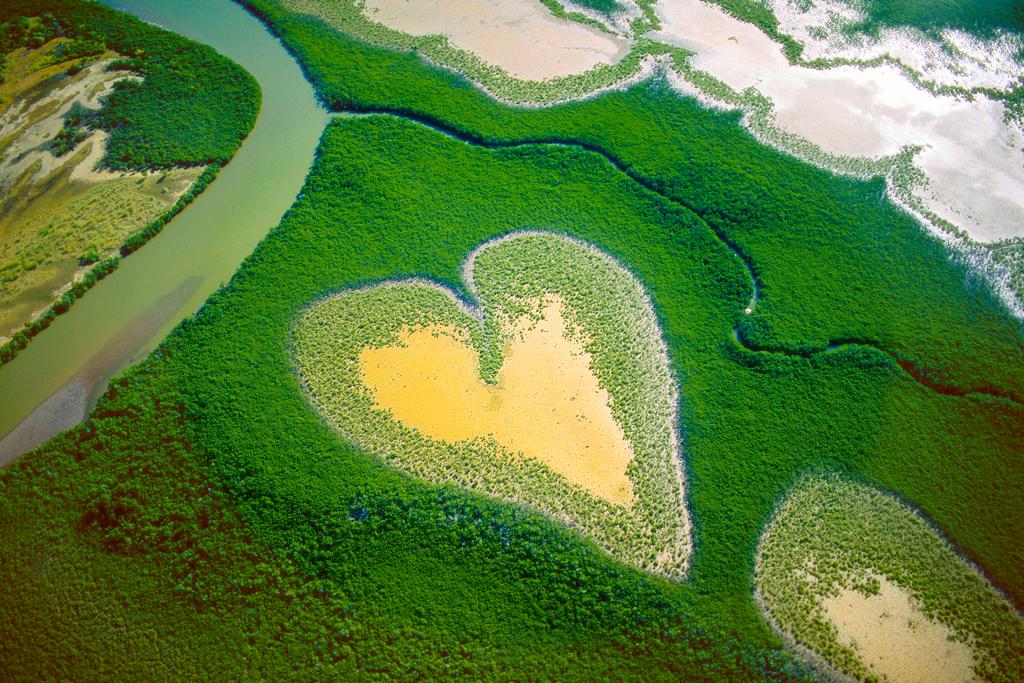 Озеро в Новой Каледонии