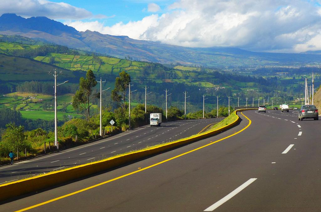 Панамериканское шоссе, Кито, Эквадор