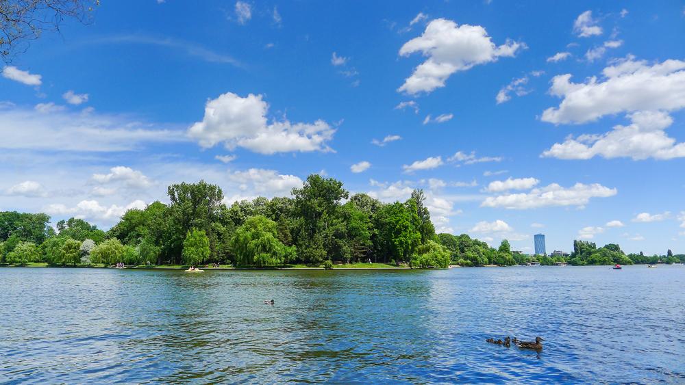 Парк Херэстрэу и озеро Херэстрэу, Бухарест