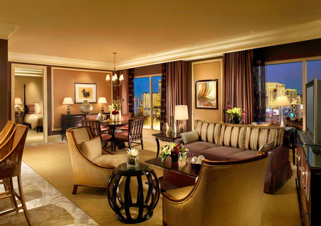 Пентхауз в Bellagio hotel, Лас-Вегас, США
