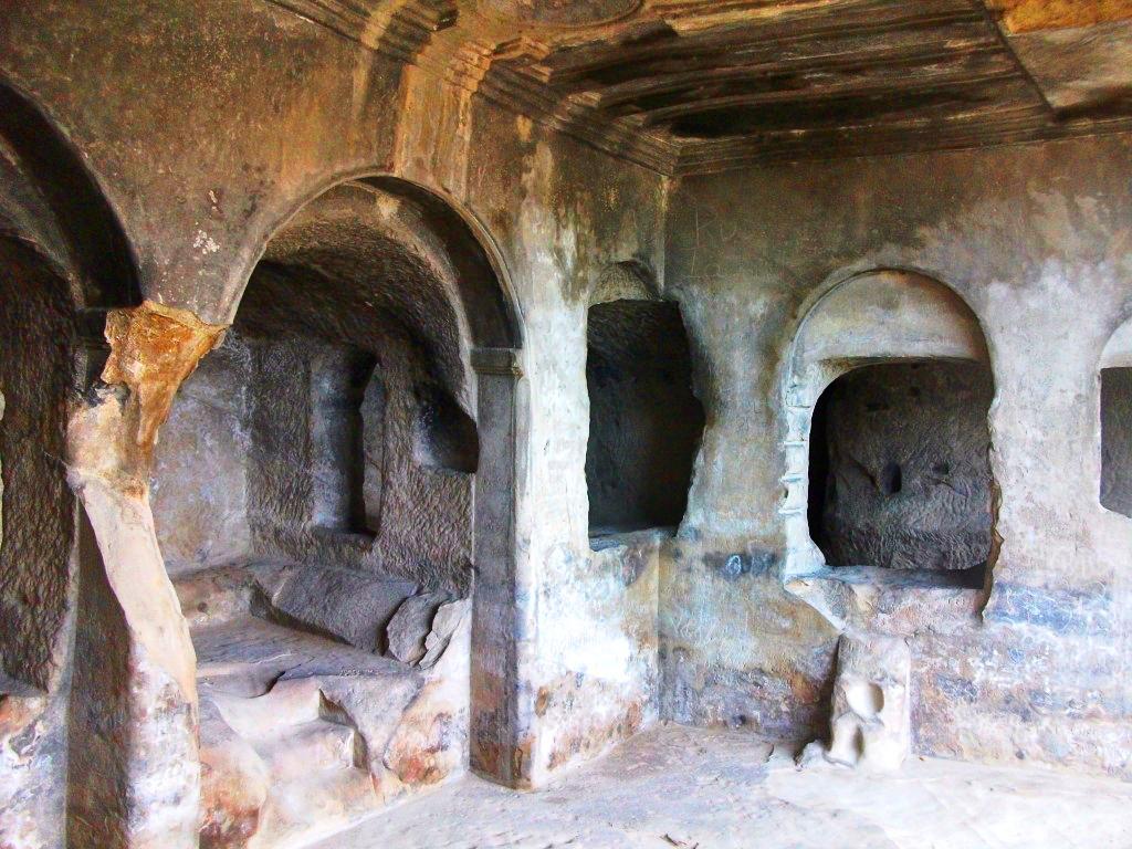 Пещера в городе-крепости Уплисцихе, Грузия