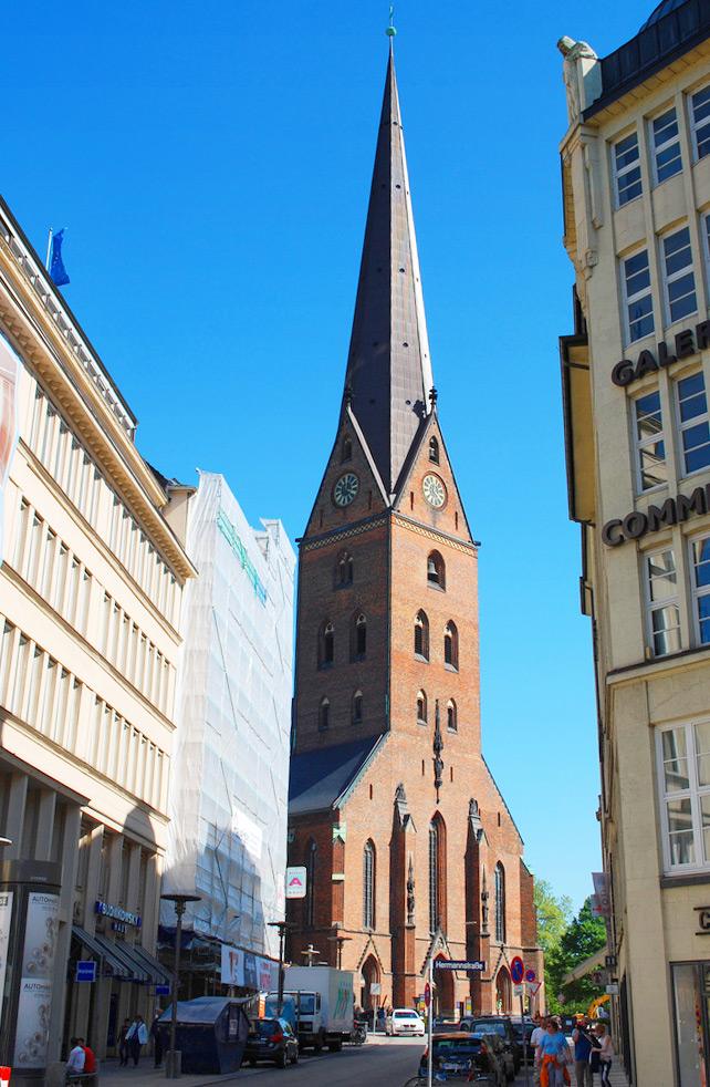 Собор Святого Петра (Petrikirche), Гамбург