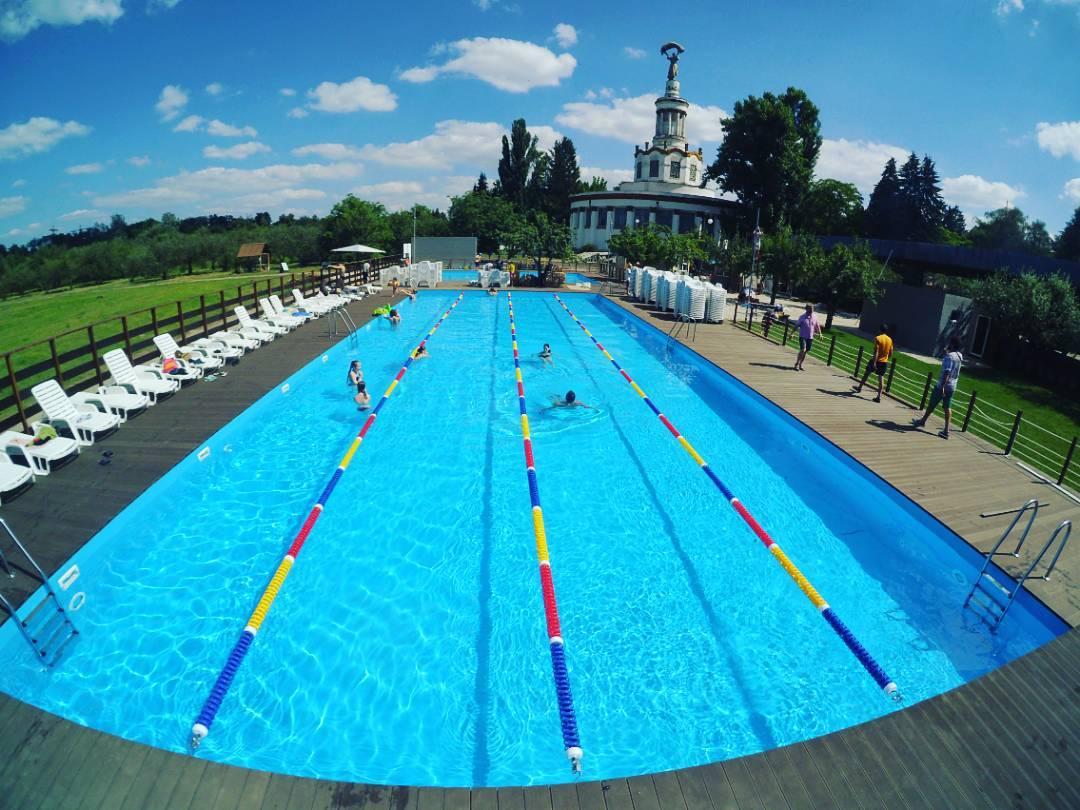 Пирс 39 - открытый бассейн на ВДНХ