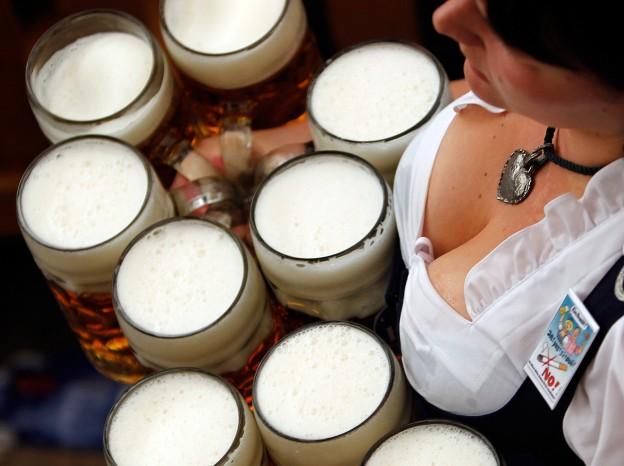 Фестиваль пива в Мюнхене, Германия
