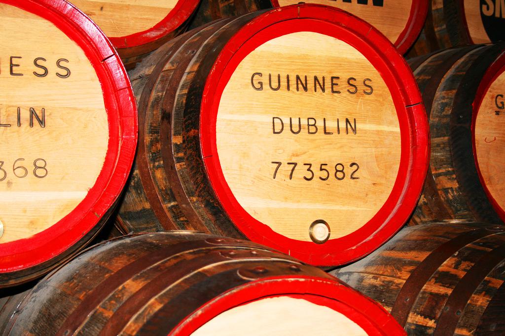 Пивоварня Гиннесс, Дублин, Ирландия
