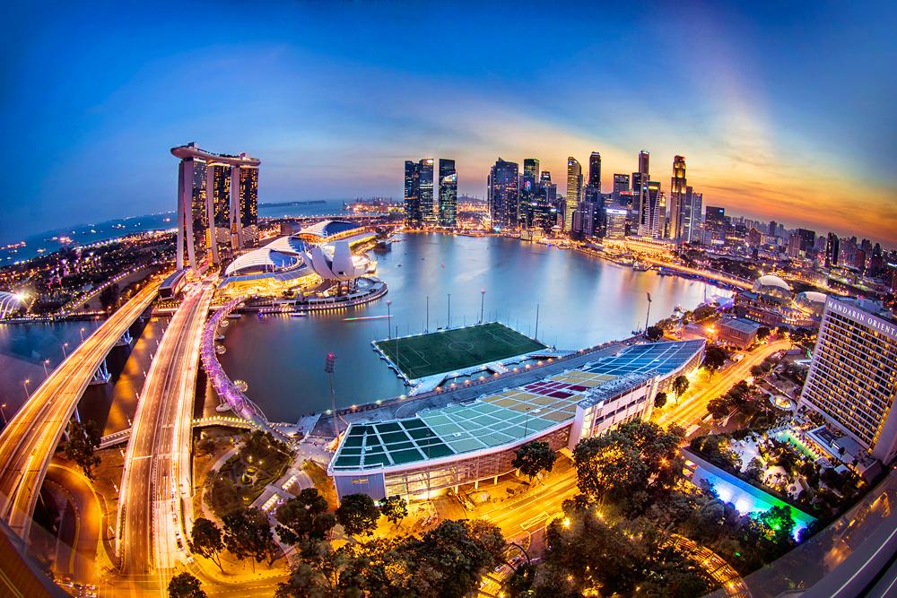 Плавучий стадион, Сингапур