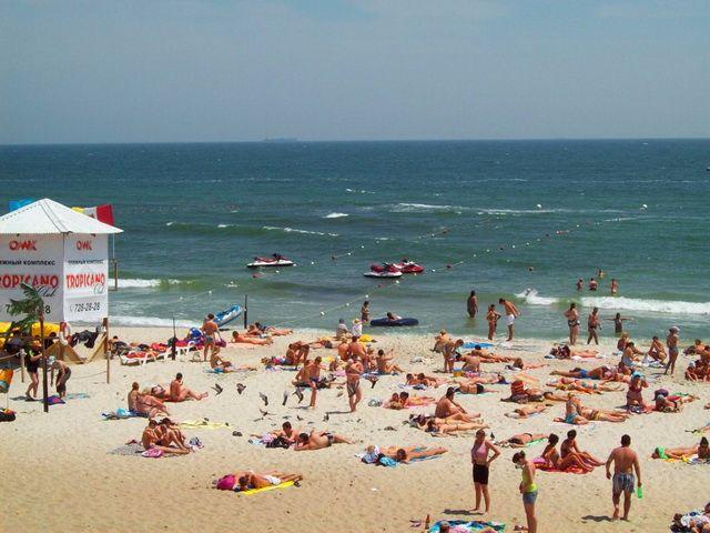 Пляж Курортный в Одессе