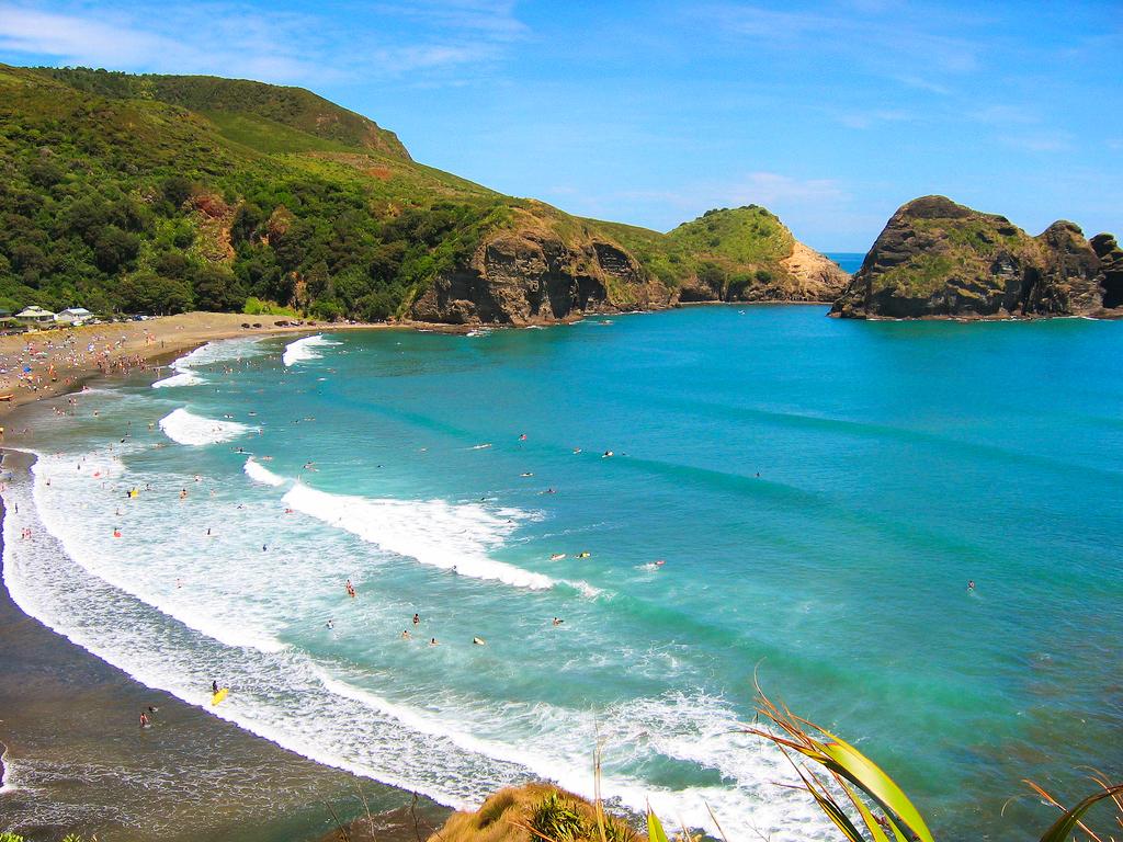 Пляж Пиха, Окленд, Новая Зеландия