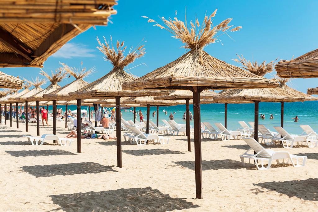 Пляж, Золотые пески, Болгария