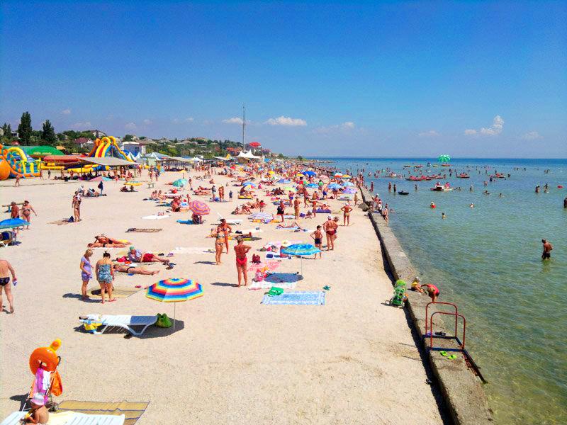 Пляжи Геническа