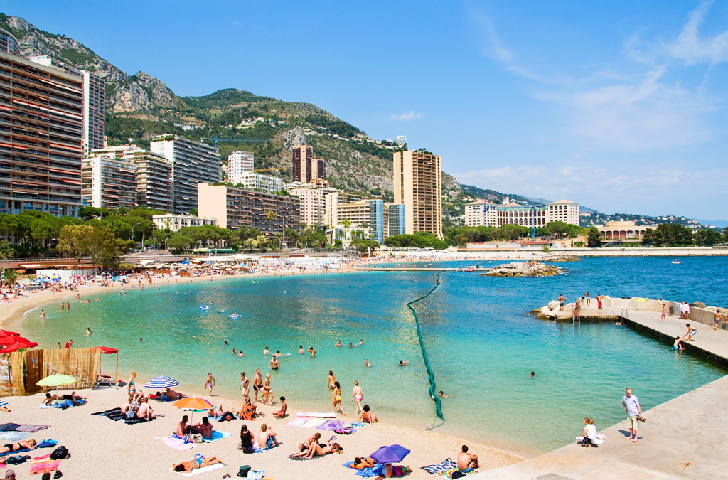 Пляжи Монако