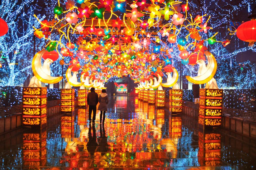 Праздник фонарей, Китай
