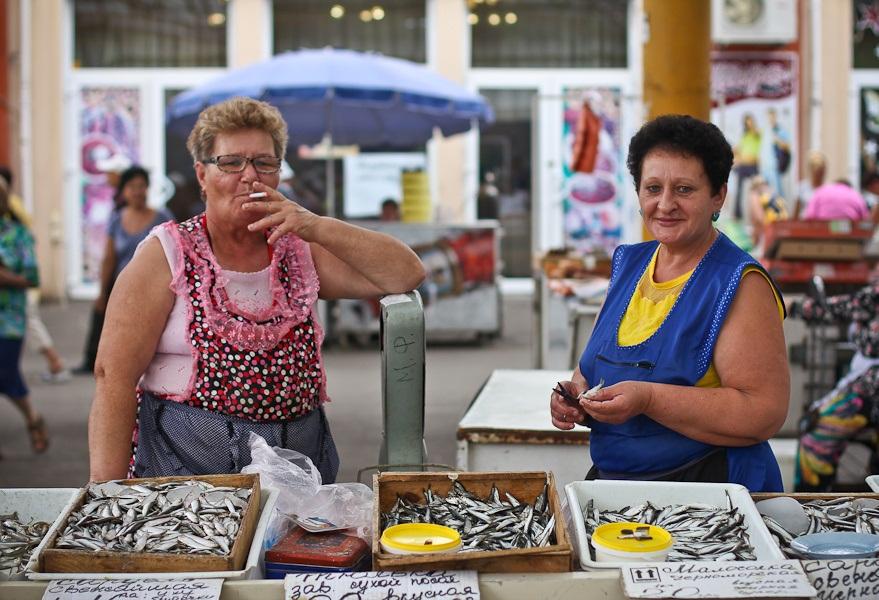 Одесские торговки на Привозе