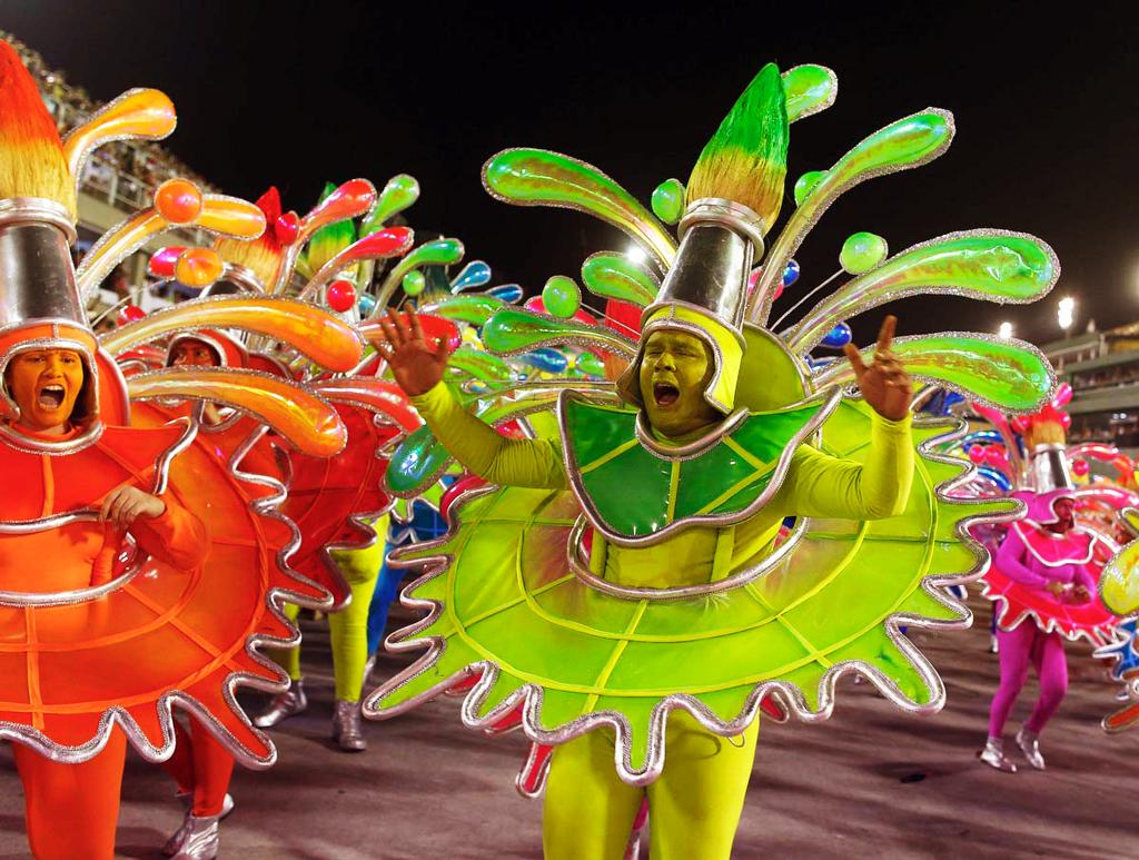 Красочное шествие, Бразильский карнавал 2014