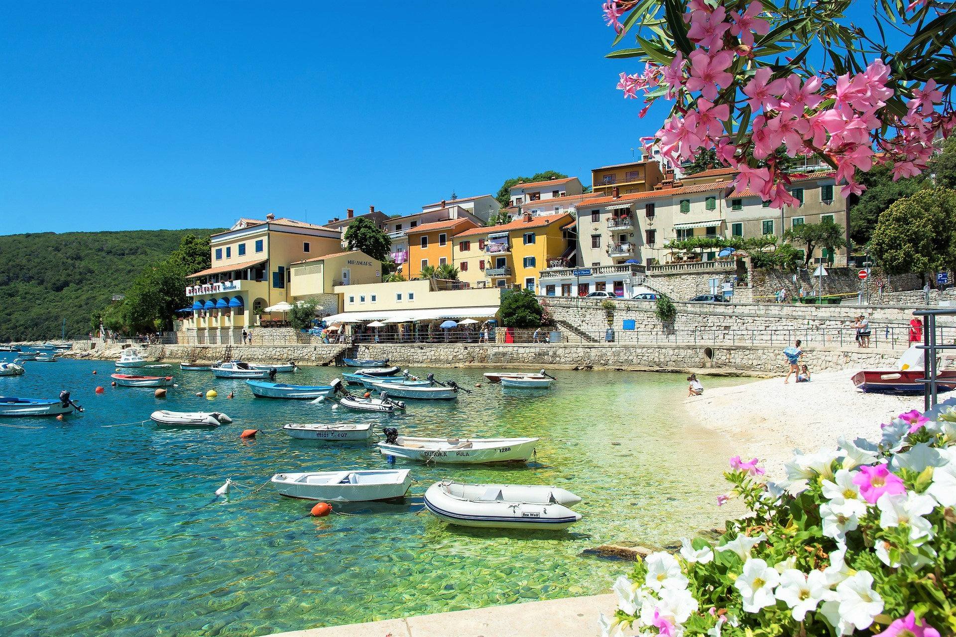 Rabac Отдых в Хорватии туры хорватию хорватия Отдых в Хорватии — 9 курортных мест Адриатического побережья Rabats