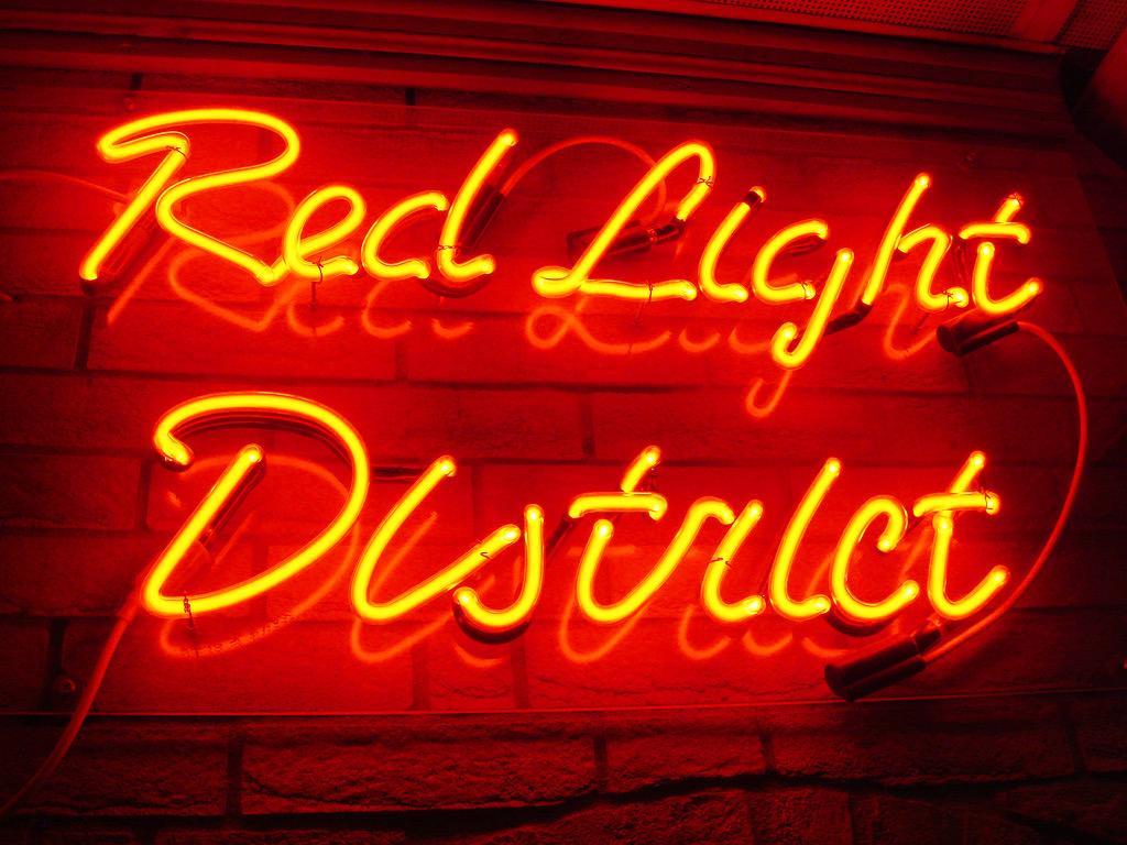 Red Light District - улица красных фонарей