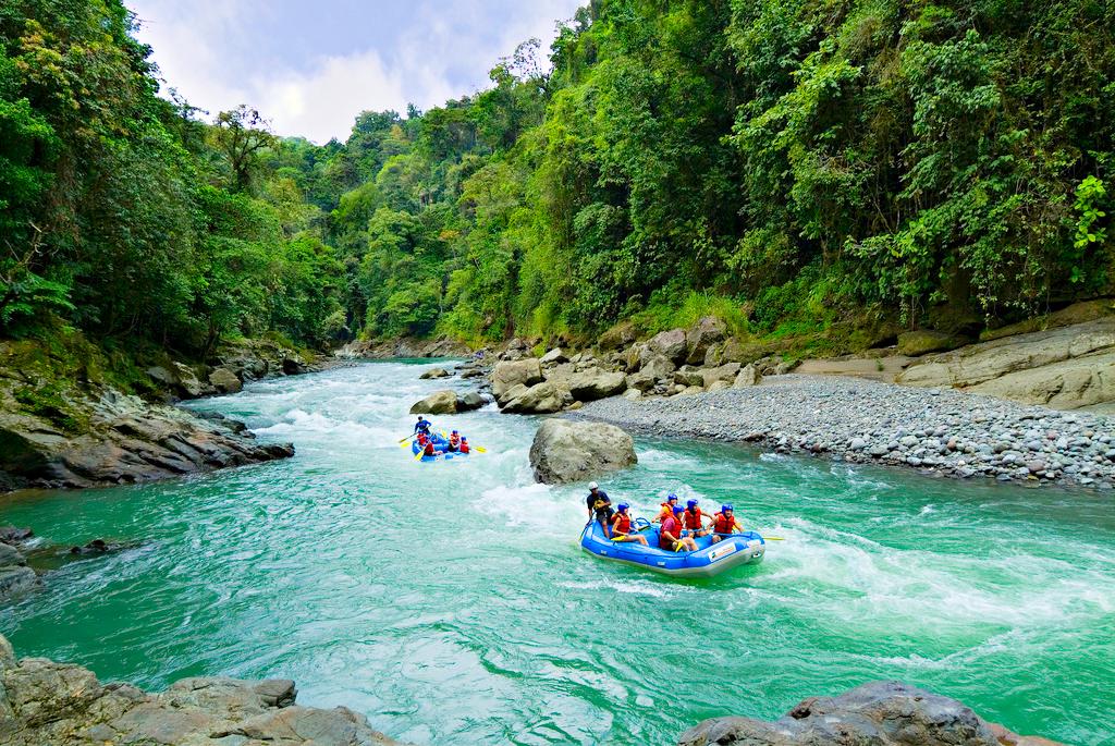 Река Pacuare, Коста-Рика