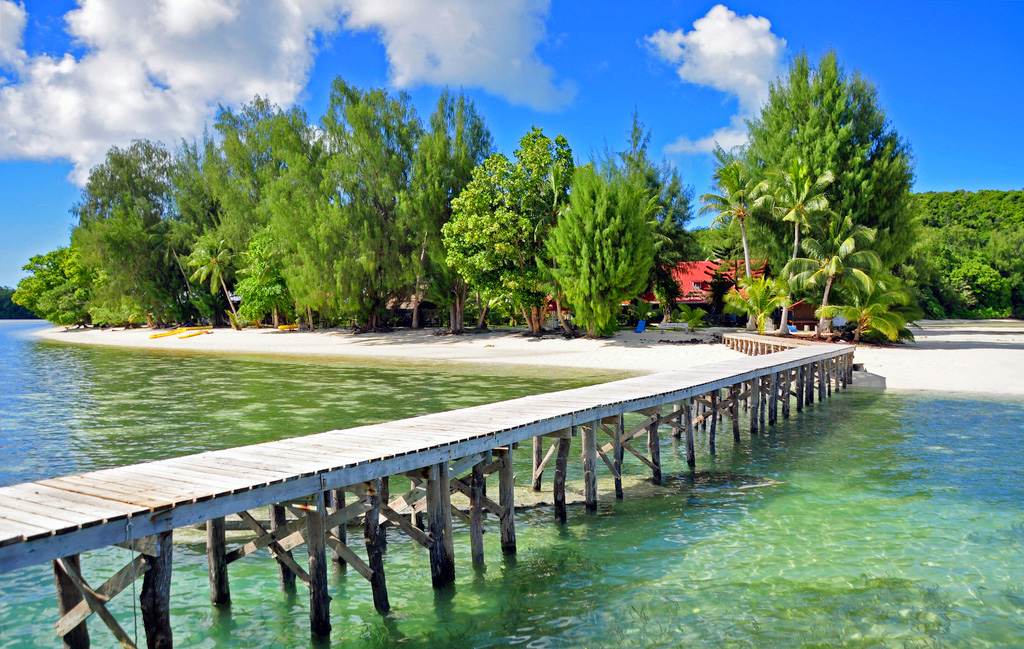Курорт в Республике Палау