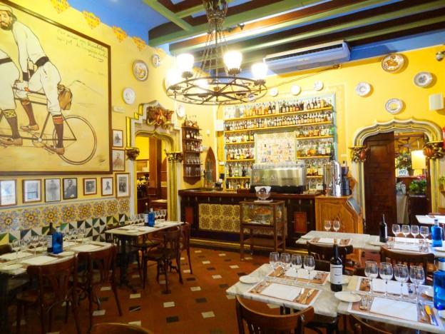 """Ресторан Els Quatre Gats (""""Четыре-кота"""")"""