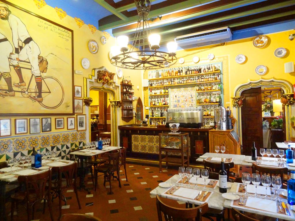 Ресторан Els Quatre Gats (Четыре-кота), Барселона