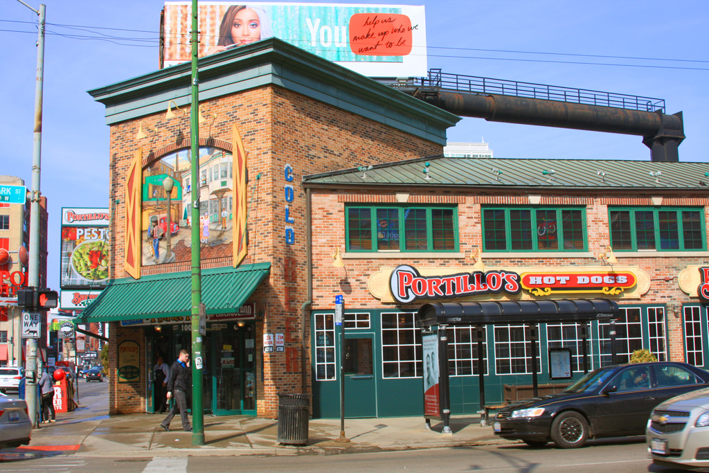 Ресторан Portillo's Hot Dogs