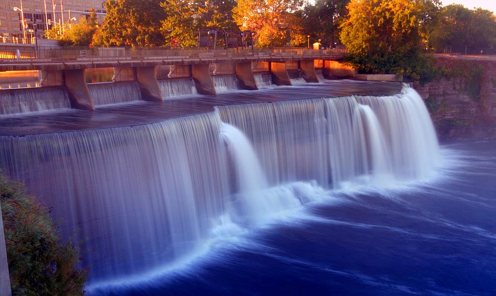 Водопад Ридо в Канаде
