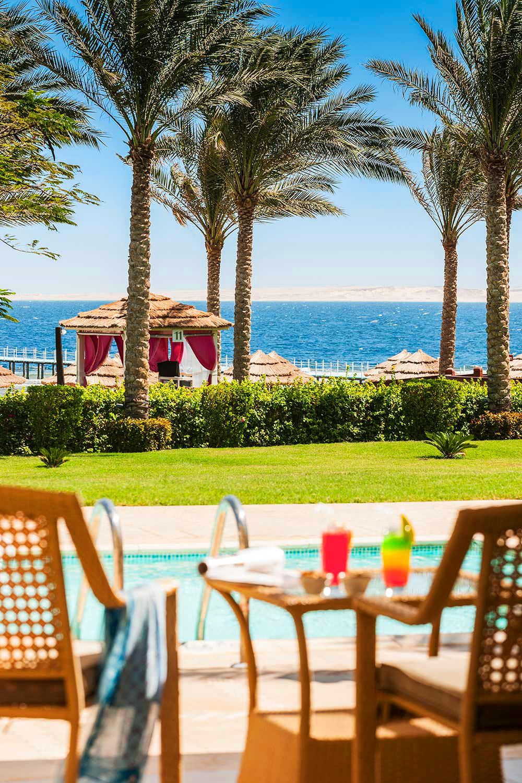 Вид на пляж, Rixos Sharm El Sheikh