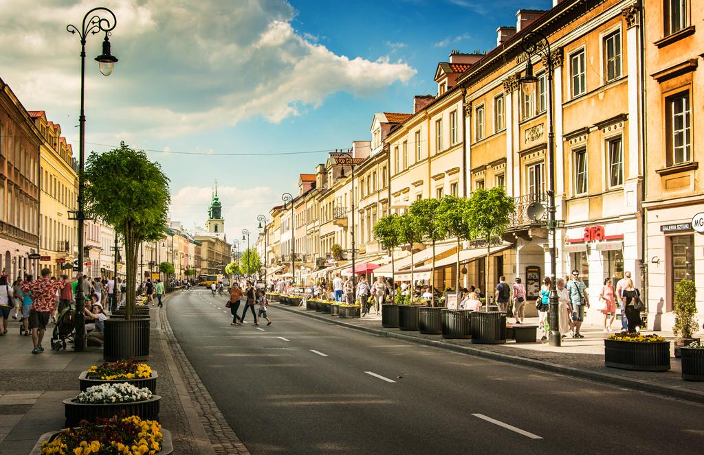 Королевский тракт, Варшава, Польша