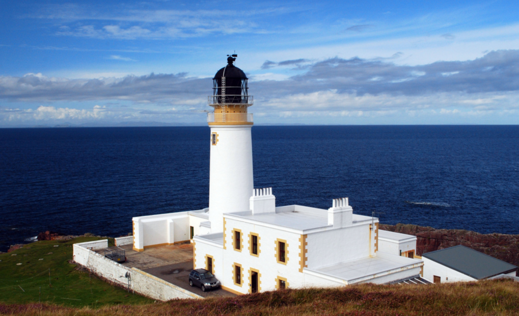 Rua Reidh Lighthouse в Шотландии