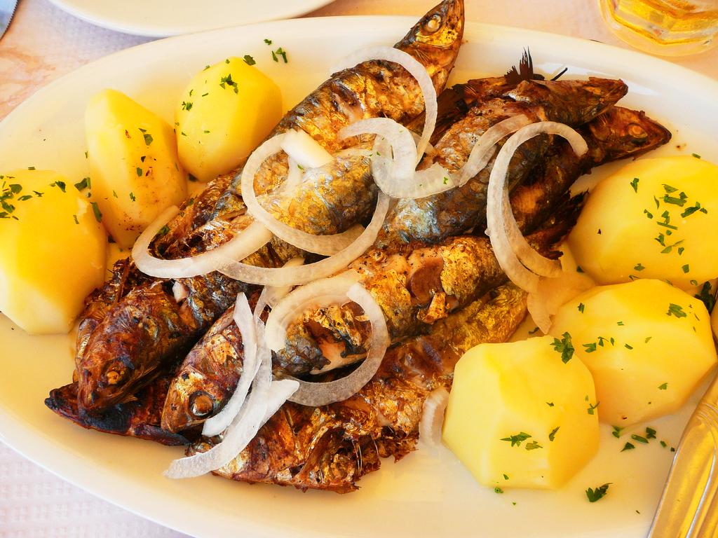 Рыбные блюда португальской кухни