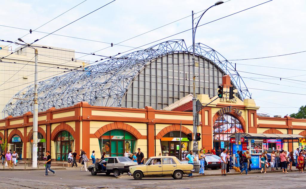 Рыбный ряд, рынок Привоз, Одесса