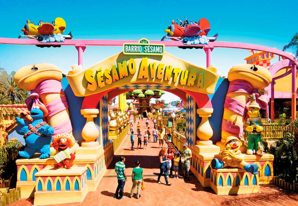 Парк развлечений Порт Авентура, Страна детей