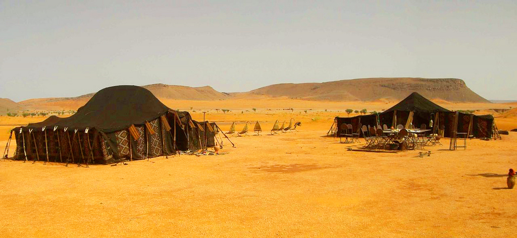 Традиционные марокканские шатры
