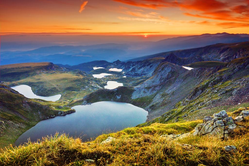 Семь Рильских озер в Болгарии