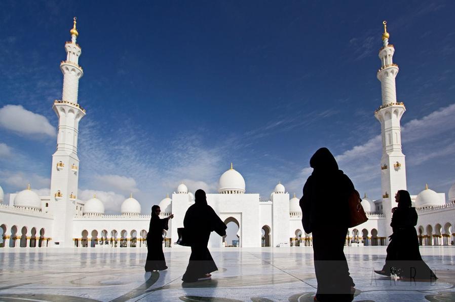 Большая мечеть в Абу-Даби