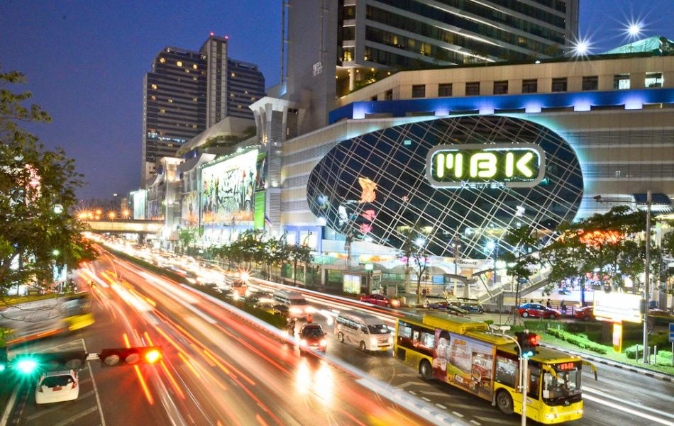 Район Siam Square в Бангкоке
