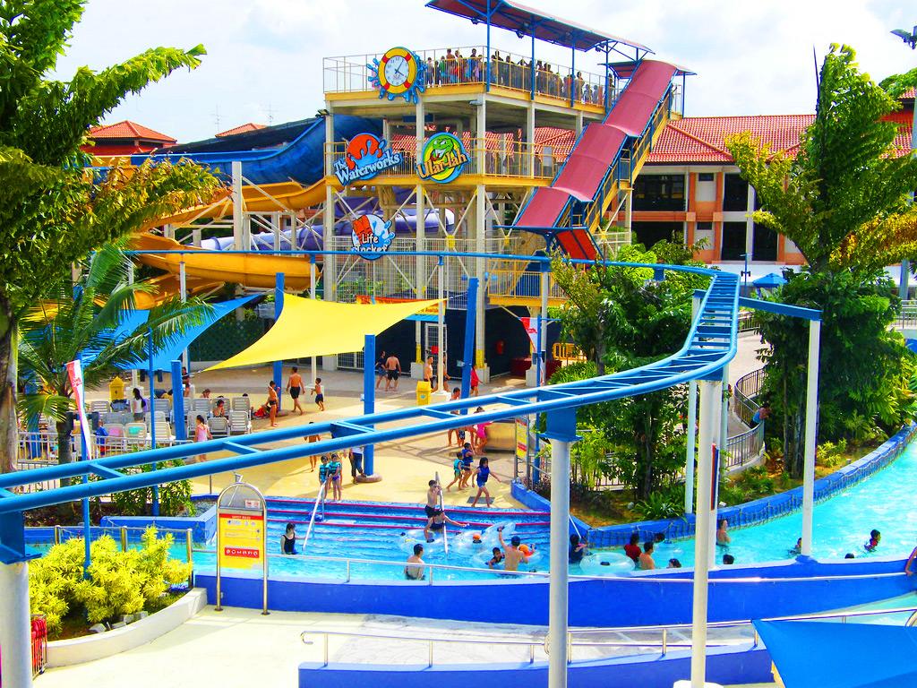 Аквапарк «Уайлд-Уайлд-Уэт». Сингапур