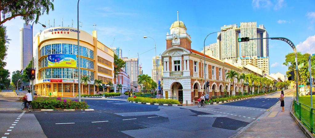Сингапур, улицы