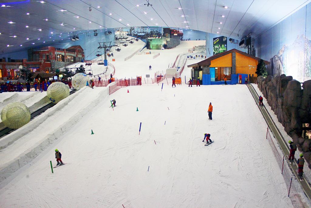 Горнолыжный курорт Ски Дубай