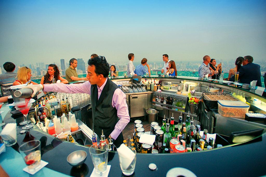 Sky Bar в отеле Lebua, Бангкок