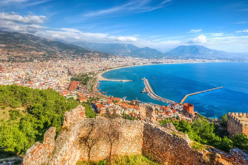 Средиземноморское побережье, Аланья, Турция