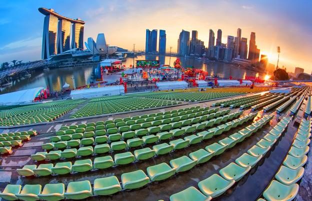 Стадион у берега Марина Бей и Marina Bay Hotel Pte Ltd, Сингапур