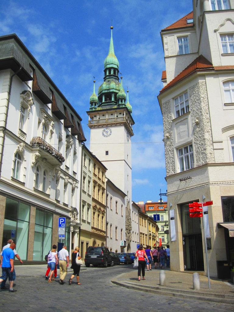 Старая городская ратуша в Брно