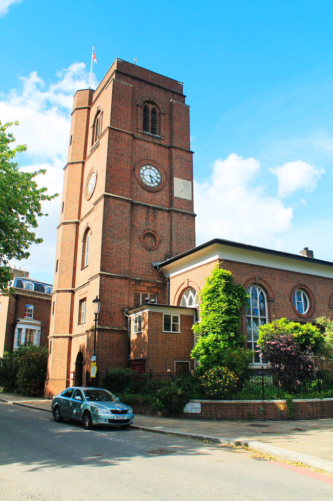 Старая церковь Челси, Лондон