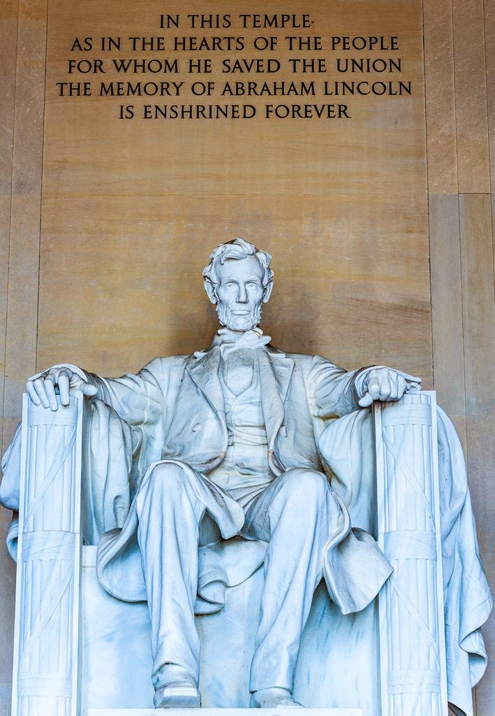 Статуя Линкольна, Вашингтон