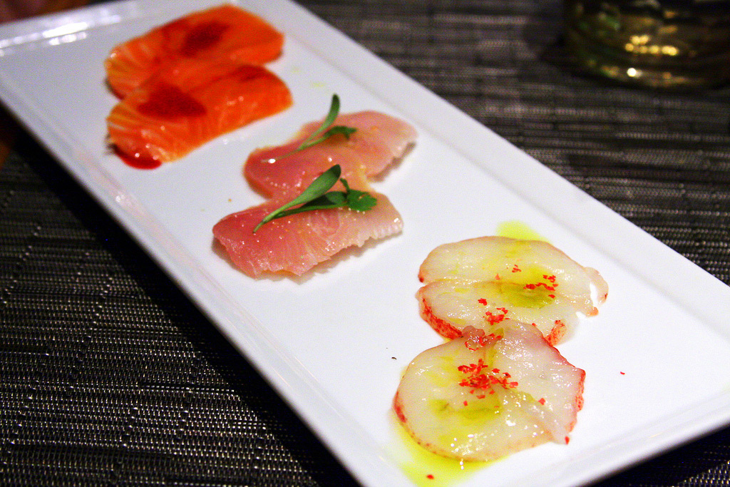 "Суши ""Crudo"", ресторан Culina Modern Italian"